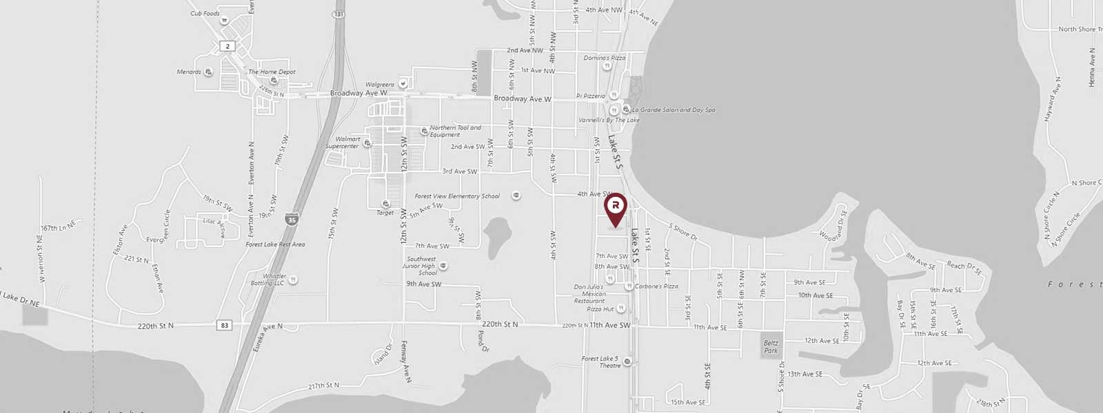 568 Lake Street South,Forest Lake,Minnesota,United States 55025,Office,Lake Street South,1089
