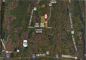 CR 136 and 33rd St S, St. Cloud, Minnesota, 56301, ,Land,For Sale,CR 136 and 33rd St S,1141